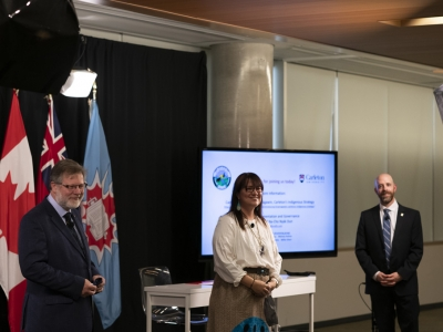 Photo for the news post: Carleton Partner First Nation of Na-Cho Nyak Dun Wins Arctic Inspiration Prize for Indigenous and Multi-disciplinary Studies and Research