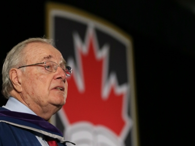 Photo for the news post: Paul Martin Receives Honorary Doctorate from Carleton University