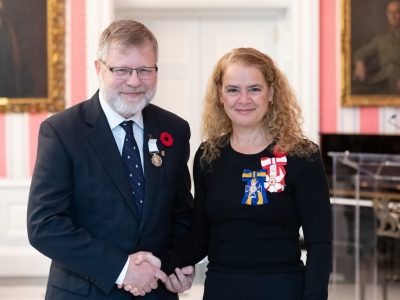 Photo for the news post: Carleton Professor Chris Burn Awarded Canadian Polar Medal for Northern Research