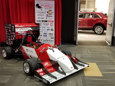 Photo for the news post: Ravens Racing Team Showcases New Car