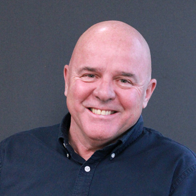 A headshot of Prof. Rick Colbourne