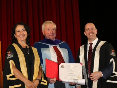 Photo for the news post: Robert Slater Receives Honorary Doctorate from Carleton University