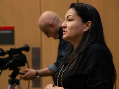 Read more about: Sharing the Wounds of a Broken Community: Rosanna Deerchild