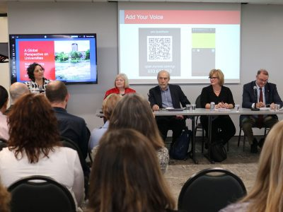 Photo for the news post: Strategic Planning Speaker Series Explores a Global Perspective
