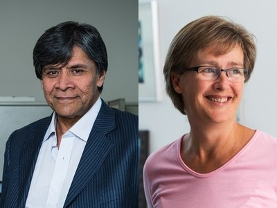 Photo for the news post: Profs. Lenore Fahrig and Shikharesh Majumdar Appointed as Chancellor's Professors