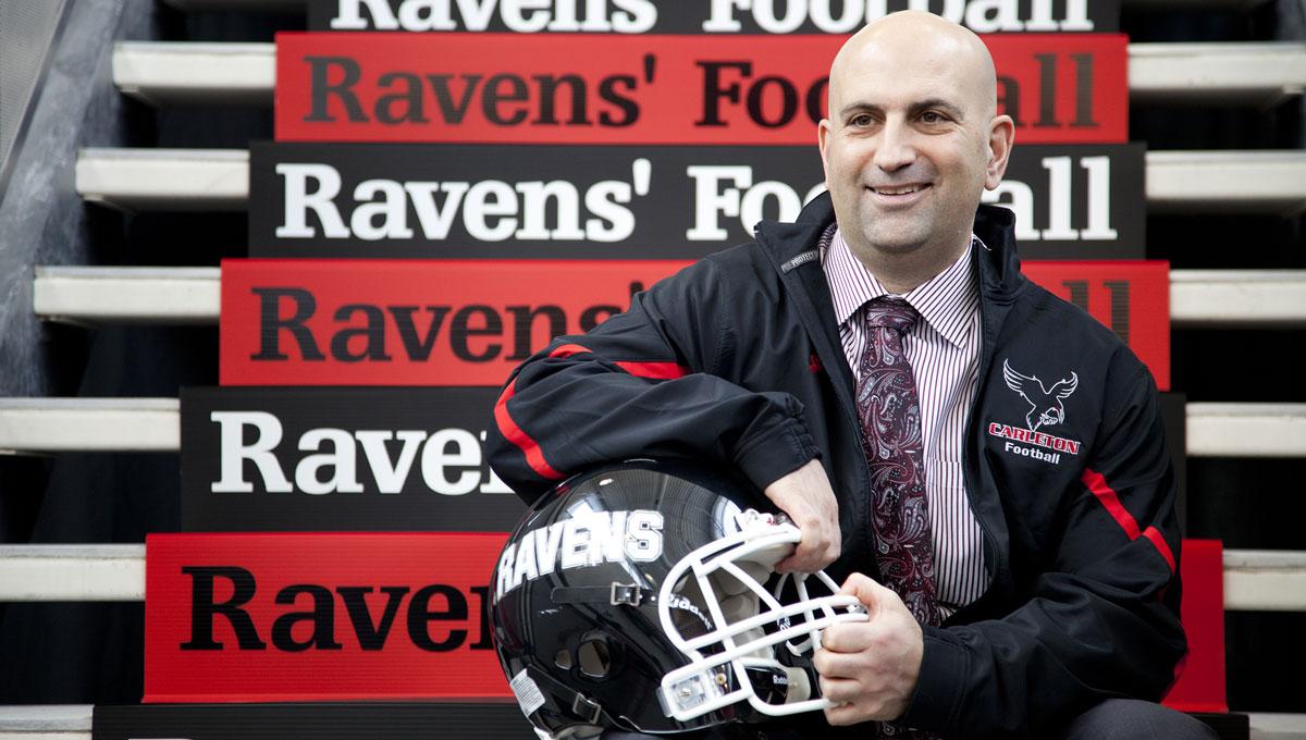 Ravens Football Coach Steve Sumarah