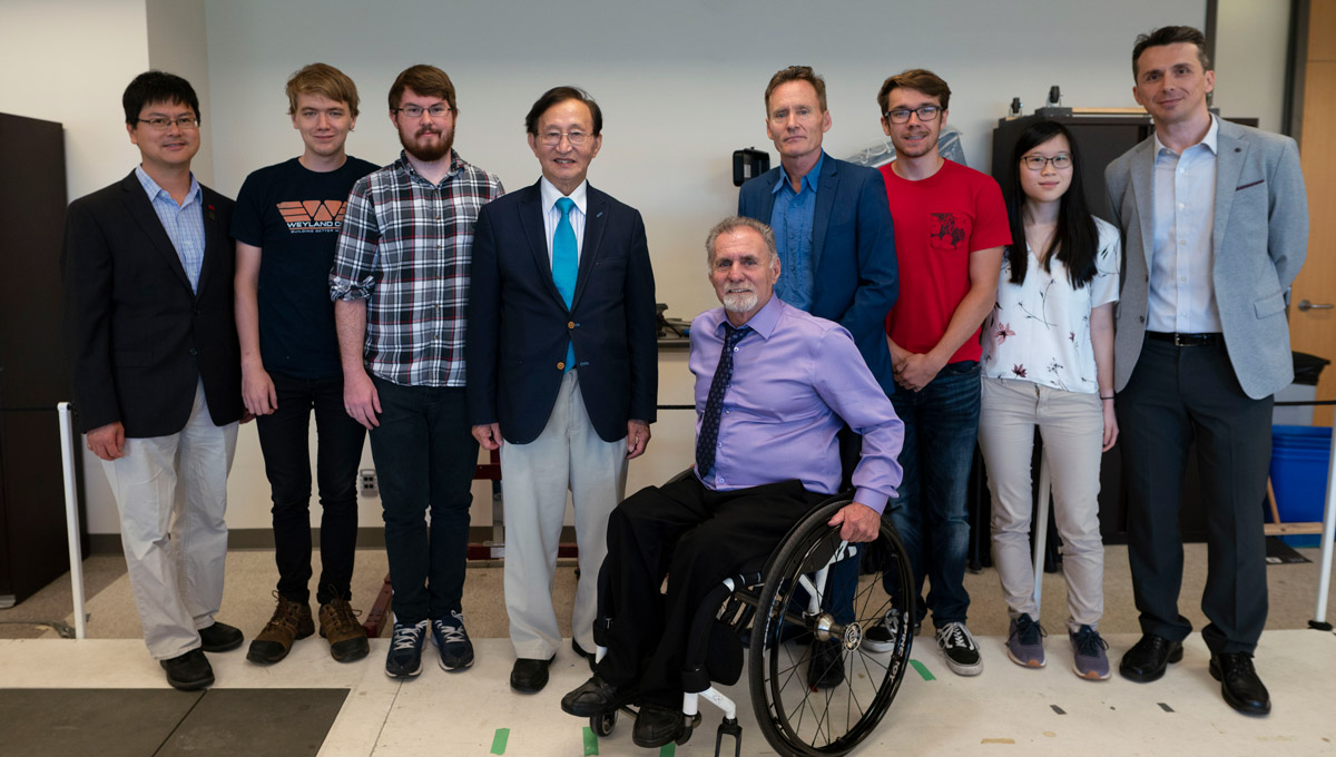 Ontario's Minister of Seniors and Accessibility, Raymond Cho, toured Carleton University in 2018 to get an inside look at how it is pushing the boundaries of accessibility and inclusion.