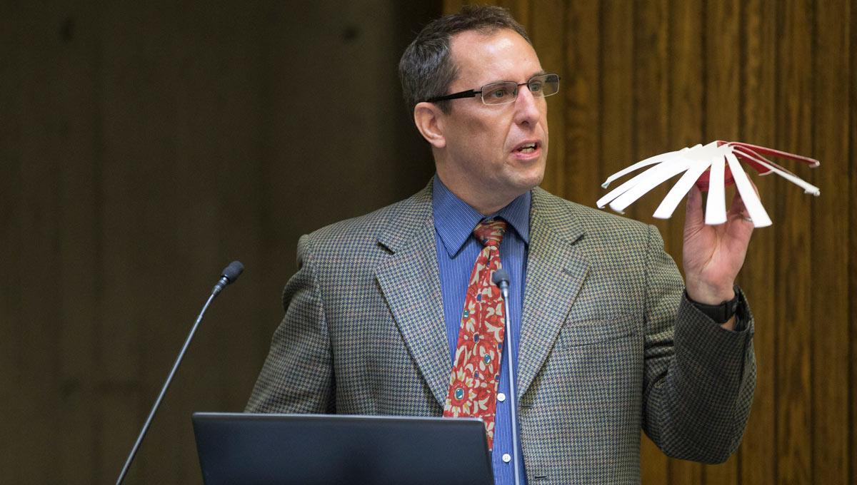Carleton professor Robert Langlois