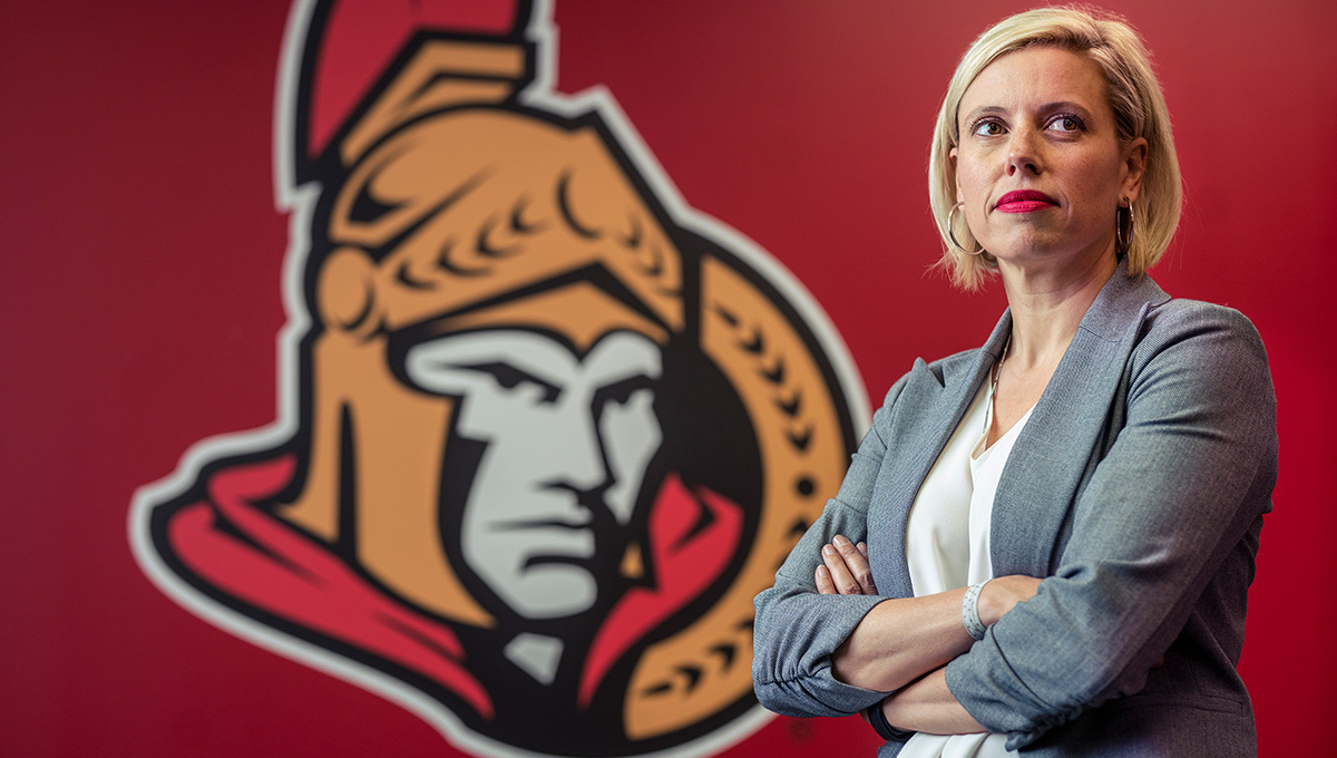 Alum Heads Up Ottawa Senators Marketing Operation