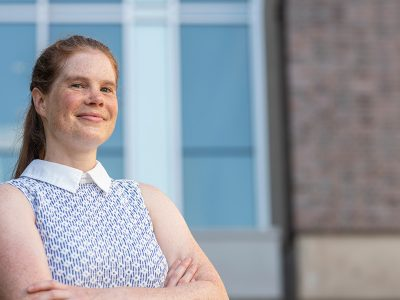 Photo for the news post: Journey of Discovery: Carleton's Amy Rand Focuses on Pollutants