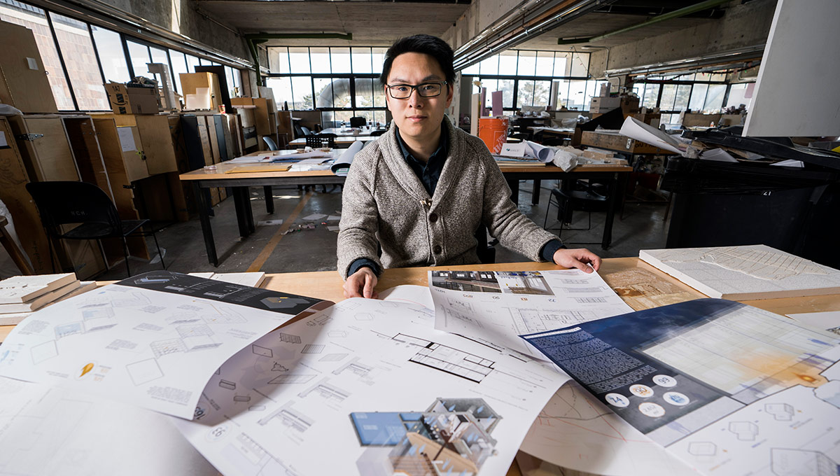 Architecture Student Hits Top Ten in Prestigious Competition