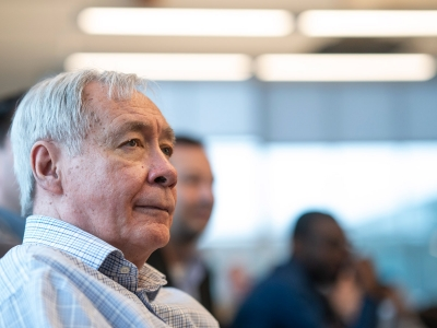 Photo for the news post: Carleton's Tony Bailetti Wins Community Entrepreneurship Award