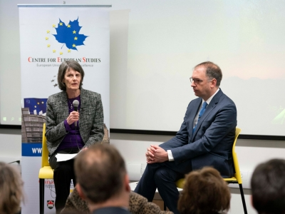 Photo for the news post: Brexit Event Explores Future of the European Union