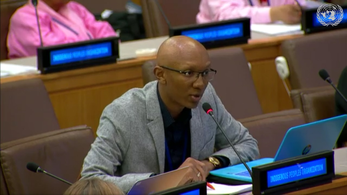 In April 2019, Jordan Gray spoke on Indigenous conservation policy at the UN Permanent Forum on Indigenous Issues before a session convened by the President of United Nations General Assembly.