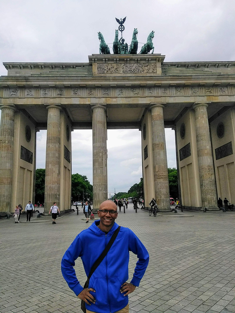 Jordan Gray was the first Carleton student to attend the World Congress on Undergraduate Research in Germany