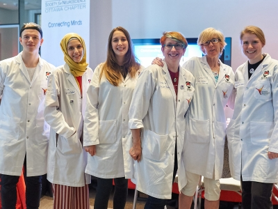 Photo for the news post: Carleton Neuroscience Students Showcase Power of Human Brain