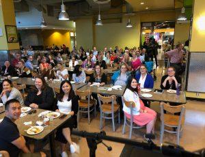 Attendees of the Carleton Community Breakfast.