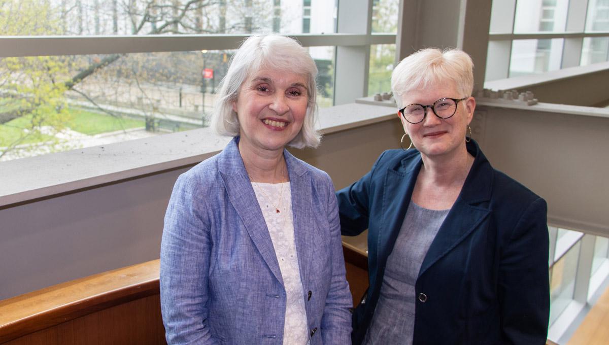Pamela Walker and Martha Attridge Bufton