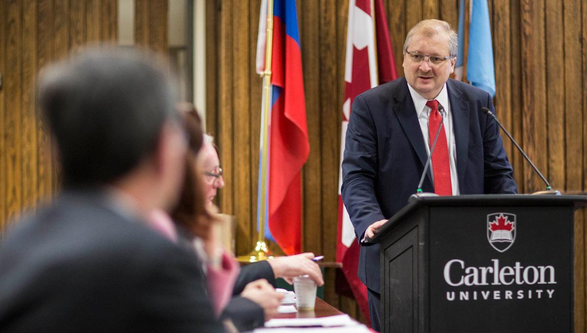 Alexander Darchiev, Russia's ambassador to Canada