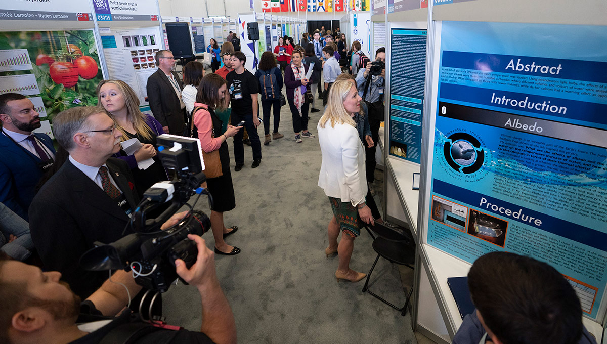 Canada-Wide Science Fair Draws Thousands