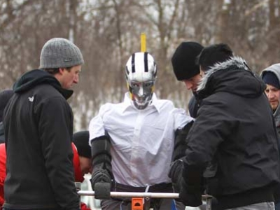 Photo for the news post: Carleton University Crash Dummy Team to Hold Vehicle-Cyclist Collision Test on March 29