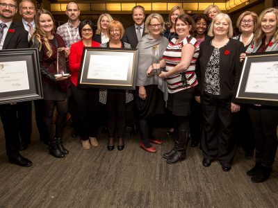 Photo thumbnail for the story: Carleton Receives Three Canada Awards for Excellence