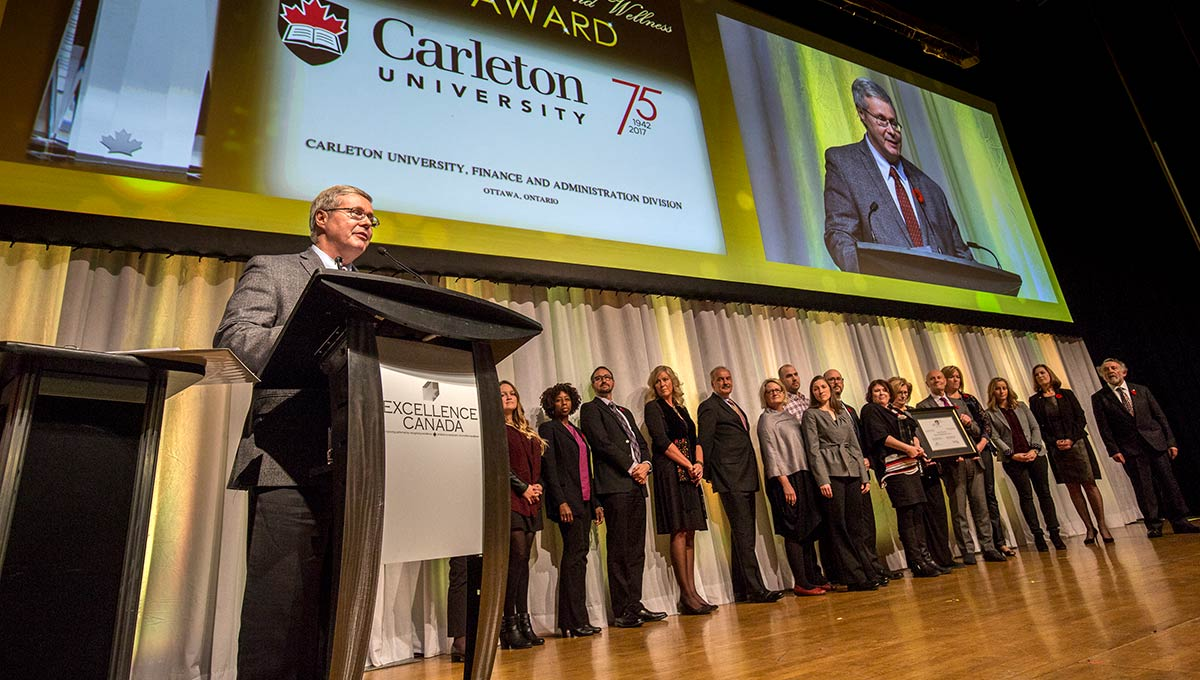 Carleton Receives Three Excellence Canada Awards