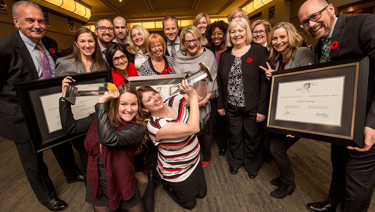 Carleton Receives Three Canada Awards for Excellence