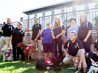 Photo for the news post: Carleton Expands Therapy Dog Program