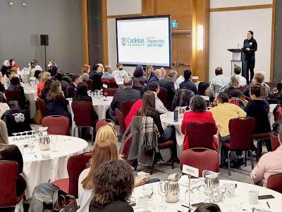 Photo for the news post: Carleton Kickstarts International Womxn's Week in Ottawa with Second Annual Breakthrough Breakfast