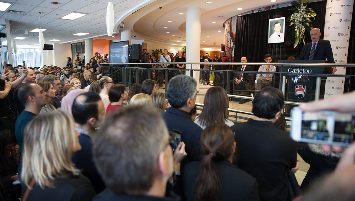 Carleton Remembers: Honouring Those Lost in Tragic Plane Crash