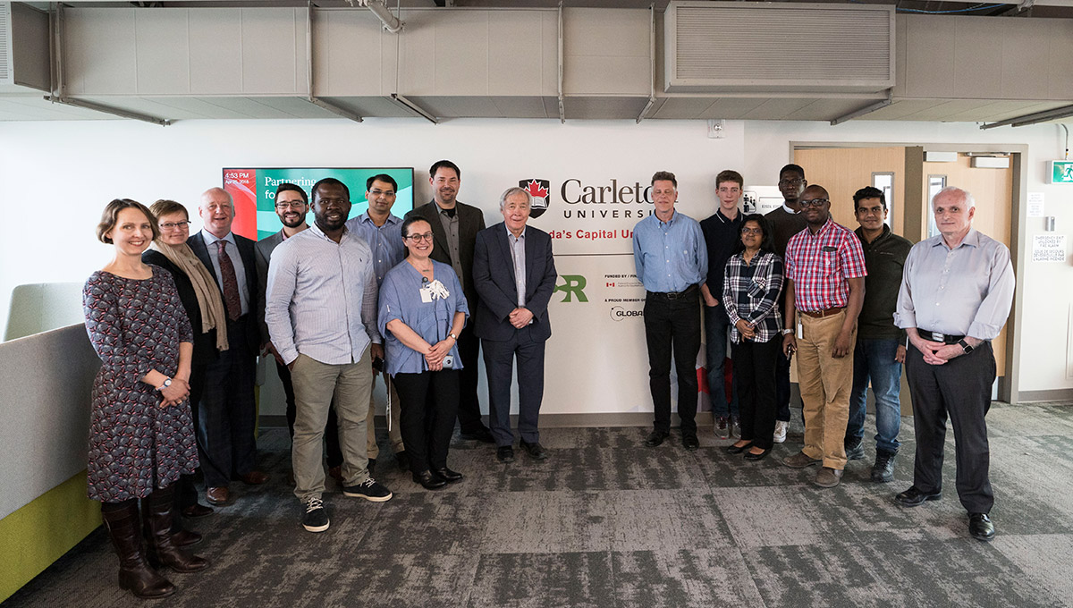 Global Cybersecurity Resource and other Carleton representatives