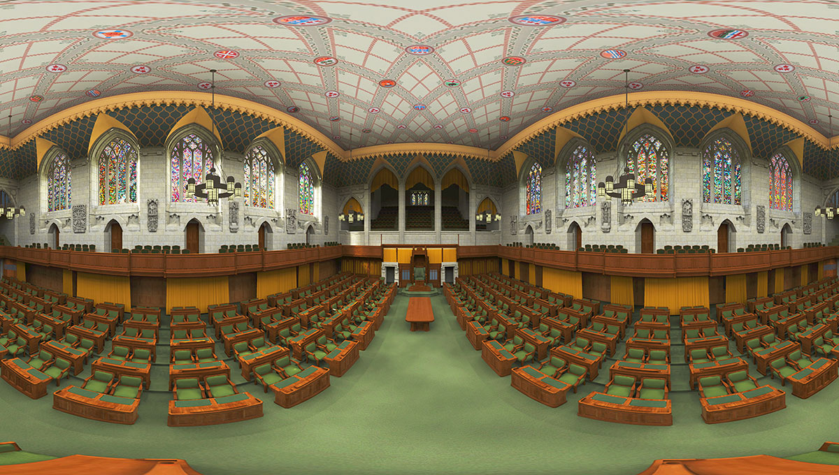 Carleton Immersive Media Studio Helps Create Stunning Virtual Experience of Canadian Parliament
