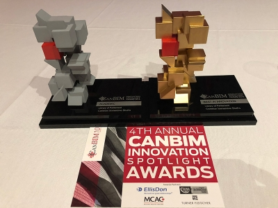 Photo for the news post: Carleton's Immersive Media Studio Wins Two Prestigious Industry Awards