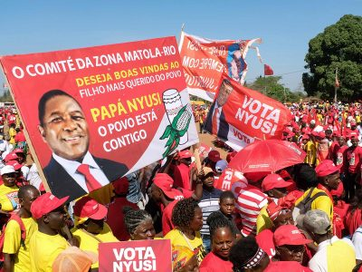 Photo for the news post: Campaign shows that political tectonic plates are shifting in Mozambique