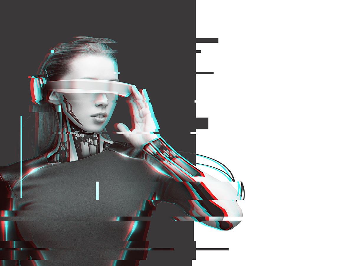 A cyborg (Shutterstock)