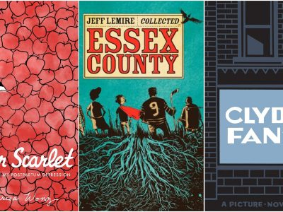 Photo for the news post: Graphic novels are overlooked by book prizes, but that's starting to change
