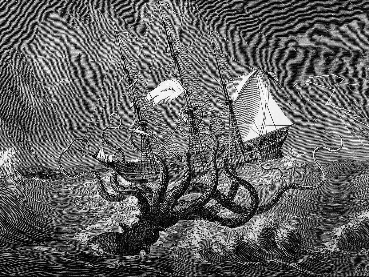 According to the Norse sagas, the kraken terrorized sailors off the coasts of Norway and Greenland. (John Gibson)