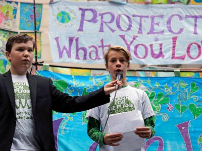 Photo for the news post: Career guidance for kids is our best hope for climate change