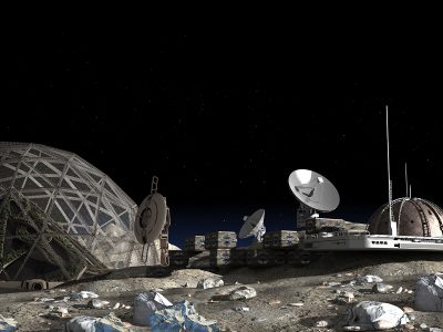 Photo for the news post: Mining the moon's water will require a massive infrastructure investment, but should we?