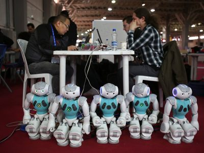 Photo for the news post: In a time of robots, educators must invest in emotional labour