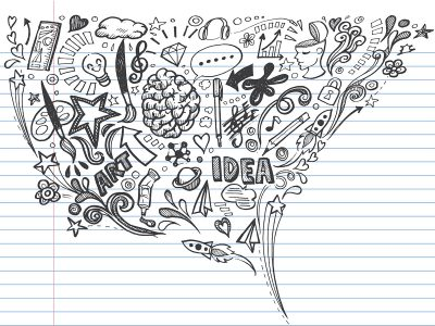 Photo for the news post: The science of multitasking, and why you should doodle in class