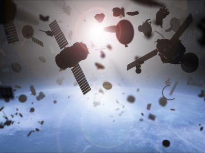 Photo for the news post: We need new treaties to address the growing problem of space debris