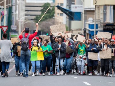 Photo for the news post: Book review: one VC's account of student protests in South Africa