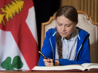 Photo for the news post: Thunberg and Obama: Did they interfere in the Canadian election?