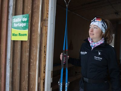 Photo for the news post: Cross-Country Star Zoë Williams Strives for Success at School and on the Ski Trail