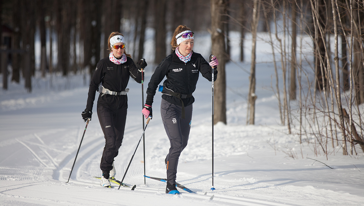 Cross-Country Star Zoë Williams Strives for Success at School and on the Ski Trail