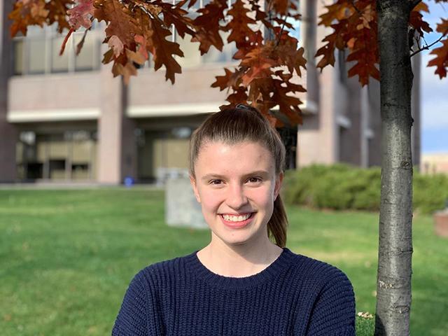 Carleton University student Mackenzie