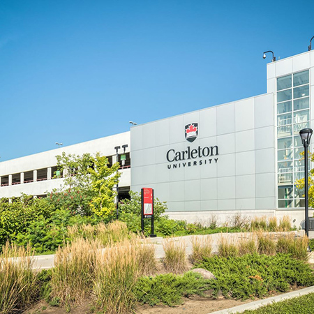 A view of the Carleton University campus