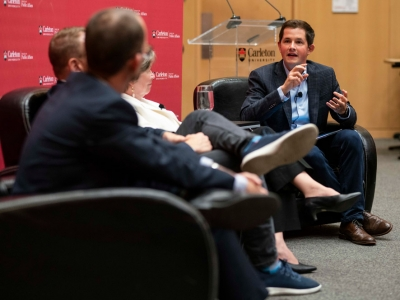 Photo for the news post: Carleton FPA Currents Lecture Examines Top Election Issues